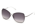 TOM FORD Sunglasses TF 0250 14B Ruthenium 63MM