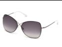 TOM FORD Sunglasses TF 0250 14B Ruthenium 63MM