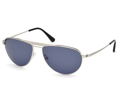 TOM FORD Sunglasses TF 0207 17V Matte Palladium 59MM