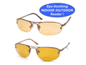 Eagle Eyes Rx Activ Indoor/Outdoor Readers- Solare Model- 2 Pack (1.5 x magnification)