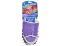 Slipper Genie Microfiber Cleaning Slippers- Lavender