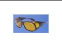 Eagle Eyes Sunglasses Sta-Active Fit-Ons - Matte Black