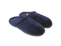 Memory Foam Slippers for Men and Women - Blue - Size Small