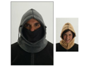 Hot Headz Hot Wavez Extreme Reversible 6 in 1 Fleece Hood