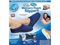Elite Comfort Pedic Memory Foam Slippers