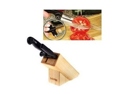 DeliPRO Deli Pro Knife With Wooden Block