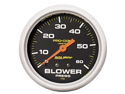 Auto Meter 5402 Pro-Comp Liquid-Filled Mechanical Blower Pressure Gauge