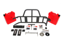 OR-FAB 85209BB Swing-Away&#59; Tire/Gas Can Carrier 07-12 Wrangler (JK)