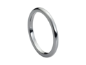 Tungsten Carbide High Polish Thin Band 2mm Wedding Band Ring