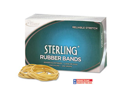 Sterling Ergonomically Correct Rubber Bands, #18, 3 X 1/16, 1900 Bands