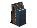 Mesh Bookends, Steel, 5 1/4 X 6 1/4 X 5, Steel, Black