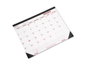 Desk Pad/Wall Calendar, Chipboard, 21-3/4 x 17, 2013