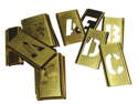Brass Stencil Letter Set