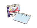 Oxford                                   Spiral Index Cards, 4 x 6, Blue/Violet/Canary/Green/Cherry, 50/Pack