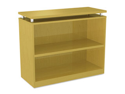 Sedinaag Series Bookcase, 2 Shelves, 36W X 15D X 30H, Maple