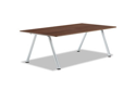 Officeworks Freestyle Table Top, 72W X 36D, Walnut