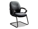 Enterprise Series Side Arm Chair, Polypropylene Fabric, Gray