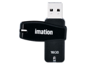 Imation Swivel 16 GB USB 2.0 Flash Drive - 1 Pack