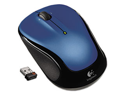 M325 Wireless Mouse, Right/Left, Blue