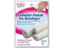 Tubular-Foam Toe Bandage (Pack of 3) (1-Small, 1-Medium, 1-Large)