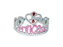 Princess Costume Pink Gems Tiara Birthday Party Hat