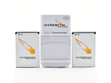 Hyperion HTC DROID Incredible 4G LTE 2 x Battery + Charger
