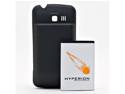 Hyperion LG Enlighten Extended Battery + Back Cover [Wireless Phone Accessory]