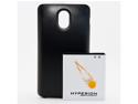 Hyperion Samsung Galaxy S II HD LTE 3800mAh Extended Battery + Back Cover