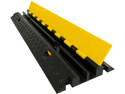 Dual Channel Cable Protector Straight Ramp