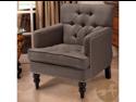 Malone Charcoal Grey Club Chair