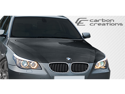 Carbon Creations Carbon Fiber  BMW 5 Series E60 4DR  OEM Hood - 1 Piece > 2004-2008