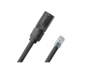 5' ft Durable CAT5e Cable with Neutrik EtherCon RJ45 to Standard RJ45 Connector AES50  EC-PROCAT5E-RE-5