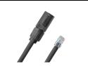 200' ft Durable CAT5e Cable with Neutrik EtherCon RJ45 to Standard RJ45 Connector AES50  EC-PROCAT5E-RE-200