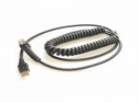 CABLE ASSY,USB,TYPE A,POWER OF THE TERMINAL,COIL,2.4 M