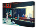 Nighthawks by Banksy Canvas Art Print