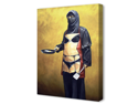 How Do You Like Your Eggs by Banksy Canvas Art Print