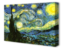 """""""The Starry Night"""" by Vincent Van Gogh Canvas Art Print"""