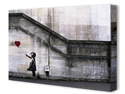 """There is Always Hope"" by Banksy Canvas Art Print"