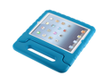 For  iPad 5/ iPad air Kids Safe Thick Foam Shock Proof Case Handle Cover- Blue
