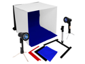 LoadStone Studio Continuous Lighting Kit Light Tent 16inch Light Kit & Mini Camera Tripod
