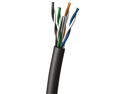 Cables To Go 32591 Cat6 UTP 250 MHz Solid PVC CMG Rated Cable, Blue (1000 Feet)