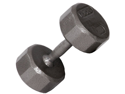 VTX 55lb Individual 12-Sided Cast Iron dumbbell