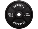USA Sports Black Olympic 5lb Plate