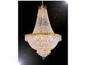 "French Empire Crystal Chandelier Lighting H30"" X W24"""