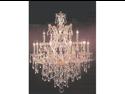 "Chandelier Crystal Lighting H30"" X W28"""