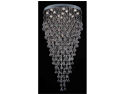 "Modern Chandelier ""Rain Drop"" Chandeliers Lighting with Crystal Balls H60""xW28"""