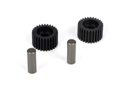 Team Losi Racing 2966 Idler Gear & Shaft (2): 22