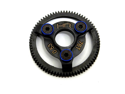 Hot Racing STE876 Blue Steel 76t 48p Spur Gear Slash