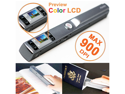 SVP Portable Handheld Scanner w/ Preview Color LCD + JPG/PDF Format Selection