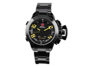 Shark SH030 Digital Army Led Men's Steel Sport Watch Black New